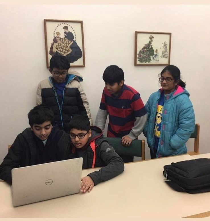 Junior Coding League East Windsor Branch students learn to code